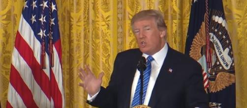 President Donald Trump: Image credit: President Donald Trump Live Speech & News 2017 | Youtube