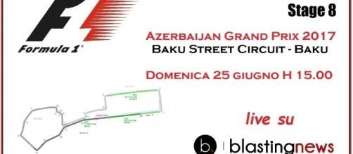 Segui la cronaca live giro per giro del Gp di Baku a partire dalle 15 ora italiana.