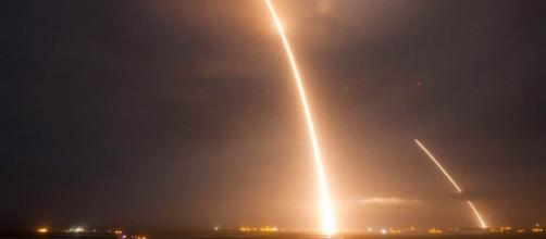 This was the twelfth launch made by SpaceX and the seventh that was made at sea, for testing reusable rockets. [Image via NBC News/nbcnews.com]
