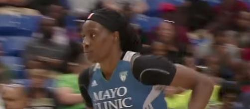 Sylvia Fowles and the Minnesota Lynx host the winless San Antonio Stars on Sunday night. [Image via WNBA/YouTube]