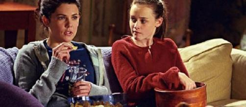 Una mamma per amica, i comportamenti surreali di Lorelai e Rory