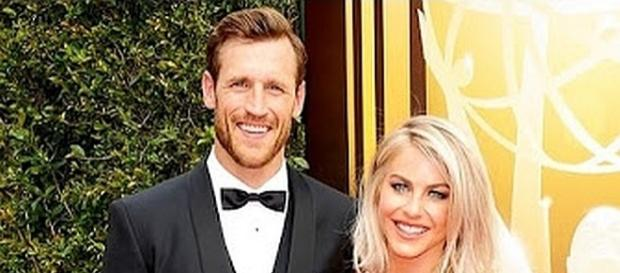 Brook Laich and Julianne Hough getting married on July 8, 2017 [Image: One News/YouTube screenshot]
