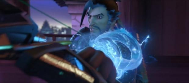 """Hanzo is considered as one of the most interesting yet difficult characters in """"Overwatch."""" [Image via YouTube/PlayOverwatch]"""