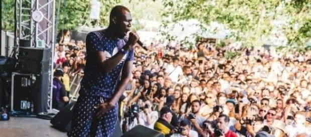 La presentación de Stormzy en Glastonbury ha sido su directo más importante hasta la fecha.