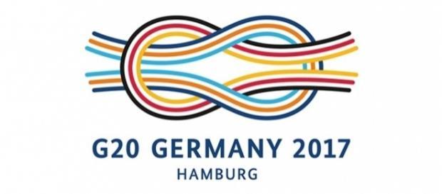Logo de la cumbre del G20 del año 2017