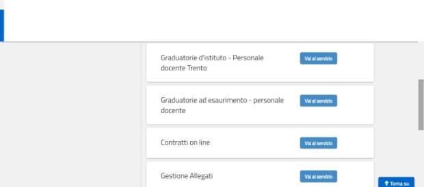 Modello A conferma acquisizione su Istanze On Line