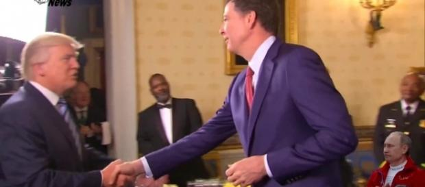 More Americans surveyed believe in James Comey more than President Donald Trump. [Image via Youtube/Live Satellite News]