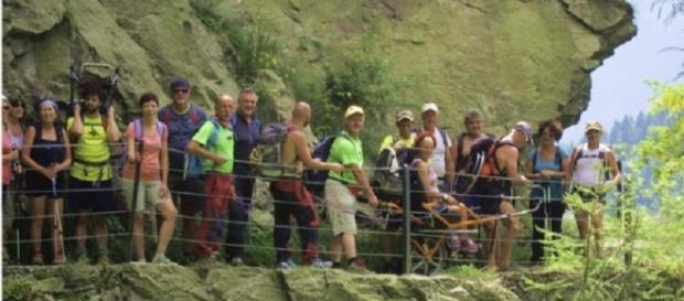 Natura Senza Barriere, promosso l'escursionismo che coinvolge tutti