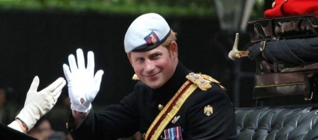 Prince Harry at Trooping the Color ceremony/Wikimedia