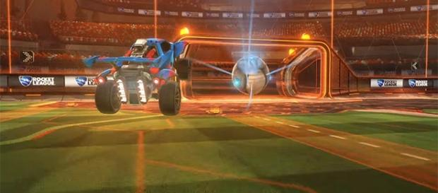 "Psyonix's ""Rocket League"" is coming to the Nintendo Switch this year. [Image via YouTube/Psyonix]"
