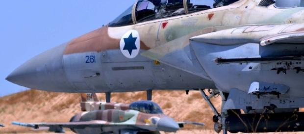 Secondo raid dell'aviazione israeliana in territorio siriano in meno di 24 ore
