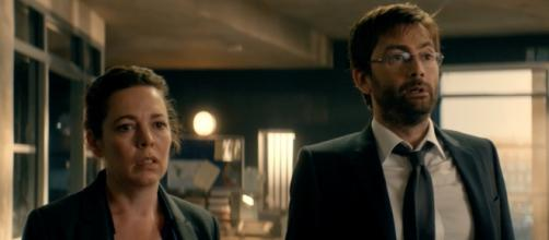 BBC airs the final season of 'Broadchurch'/Photo via screengrab