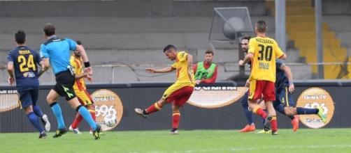 Filippo Falco, attaccante in uscita dal Benevento.