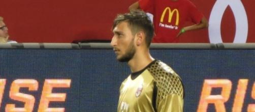 Gianluigi Donnarumma, portiere del Milan.