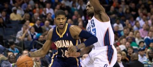 Is Paul George destined to play for the Cavaliers in 2017? {Image via Wiki Commons]