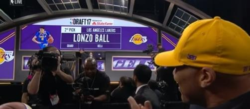 Lonzo Ball Drafted 2nd Overall By Los Angeles Lakers | NBA | Youtube