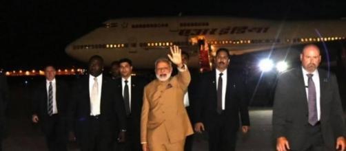 Modi US visit: PM Modi arrives in Washington on second leg of 3   Zee News   Youtube