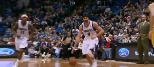New York Knicks trade rumors: Ricky Rubio at point guard? - youtube screen capture / Ben Gansler Productions