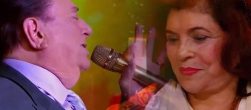 O apresentador homenageou a esposa (Foto Reprodução - SBT)
