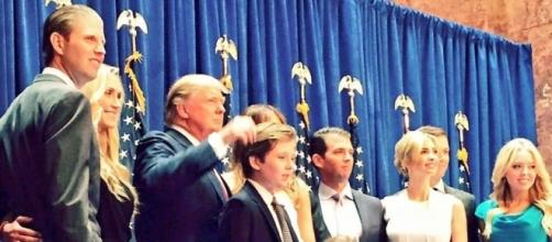 On the same day, Eric Trump and father Donald hit the Democrats. Photo via @Erictrump, Twitter.
