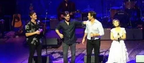 """The multitalented cast of """"Nashville"""" offers more than music on their UK stops..--Screencap Alexandra Bower/YouTube"""