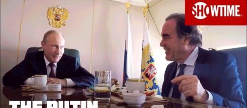The Putin Interviews official picture; Image credit Sjowtime   youtube