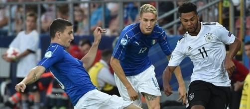 Una fase di Italia-Germania Under 21, match nel mirino del governo slovacco