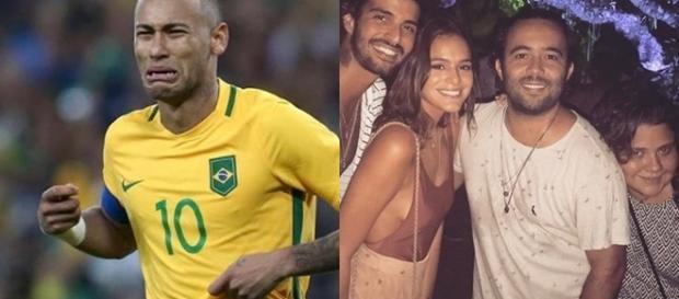 Climão? Após fim de namoro, Neymar dá de cara com Bruna Marquezine (Foto: Reprodução)