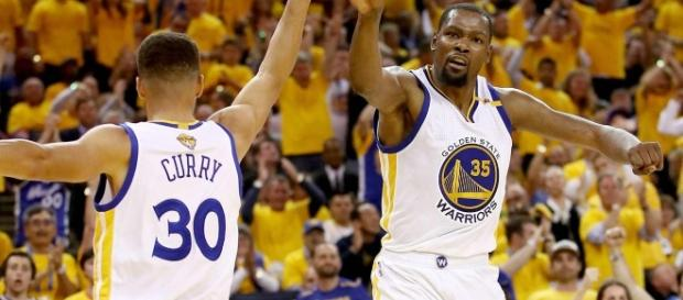 Curry y Durant han dominado las Finales (vía Sport Illustrated)