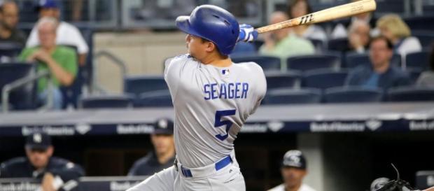 Dodger shortstop, Corey Seager-Flickr