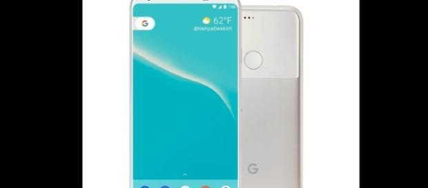 Google Pixel 2 and Pixel 2. Image credit Techtalk TV | Youtube