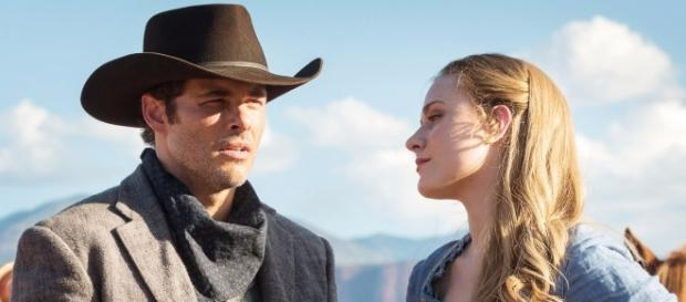 James Marsden and Evan Rachel Wood