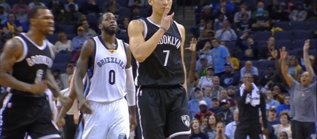 Jeremy Lin, Brooklyn Nets - youtube screen cap