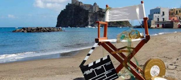 Nella foto un set esterno in Campania