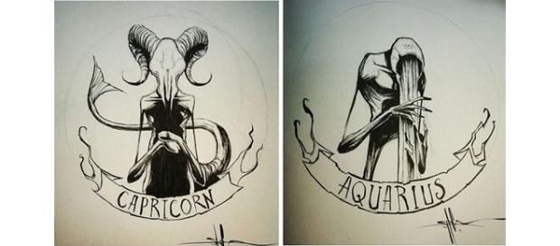 Os signos representados de uma maneira assustadora (Foto: Reprodução)