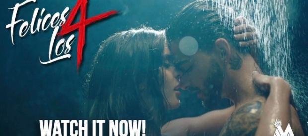 """Sensualidad en el nuevo video de Maluma """"Felices los 4"""" - ipauta.com"""