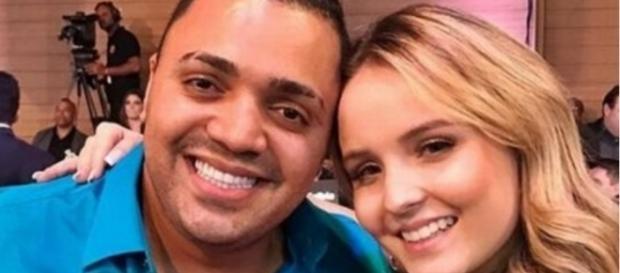 Tirulipa, filho de Tiririca, arrematou por R$ 36 mil um passeio com a atriz Larissa Manoela