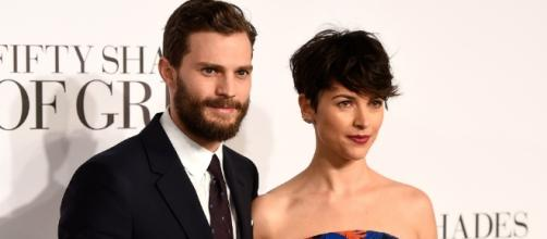 Amelia Warner brushes off all the whispers and speculations thrown at her husband and Dakota Johnson. (via Blasting News library)