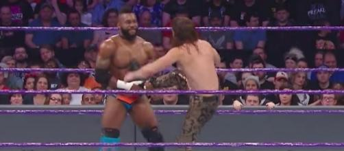 Cedric Alexander battled The Brian Kendrick in a WWE 'Main Event' match taped prior to 'Raw.' [Image via WWE/YouTube]