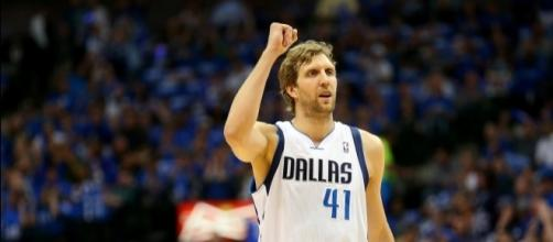 Dirk Nowitzki, Dallas Mavericks- youtube cap / NBA