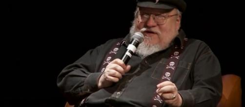 """George RR Martin reportedly targets to release """"The Winds of Winter"""" this year. Photo by Caio Brito/YouTube Screenshot"""