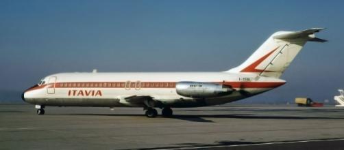 Il DC-9 Itavia schiantatosi nei pressi di Ustica