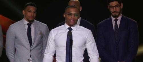 Image via Youtube channel: NBA #RussellWestbrook #MVP