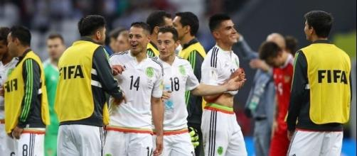 México se encuentra en semifinales de la Copa Confederaciones.