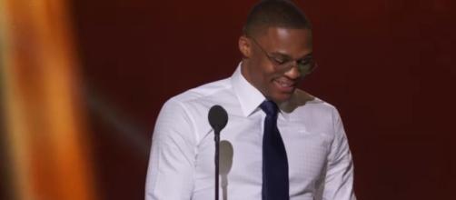 NBA Awards Show - YouTube screenshot via NBA