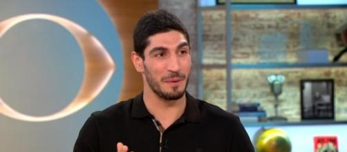 NBA player Enes Kanter on Turkey revoking passport, death threats - CBS This Morning via YouTube (https://www.youtube.com/watch?v=RzoXLsVF2yM)