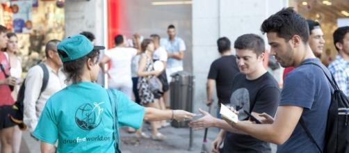 Voluntaria de España sin Drogas