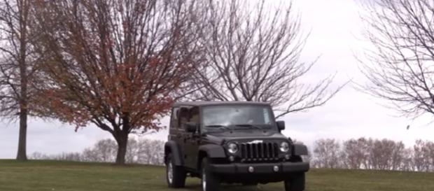 2017 Jeep Wrangler Unlimited. Image credit Golden Pony | Youtube