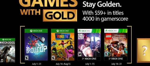 Free Games with Gold for July 2017 | Xbox 360 News at New Game Network - newgamenetwork.com
