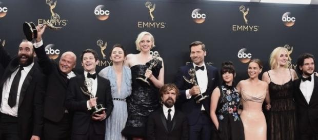 Les acteurs de Game of Thrones aux Emmy Awards